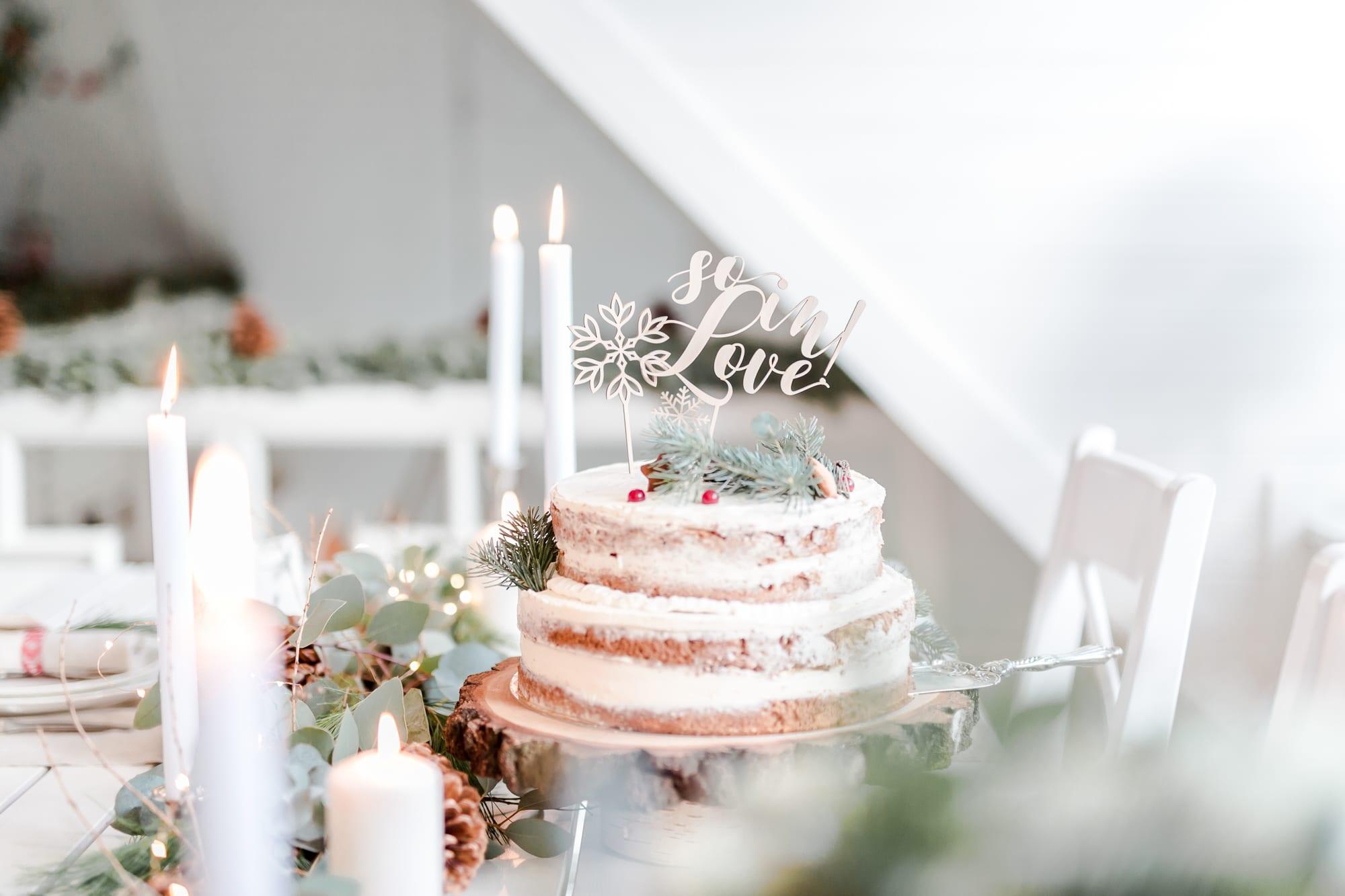 Świąteczna sesja ślubna śluby