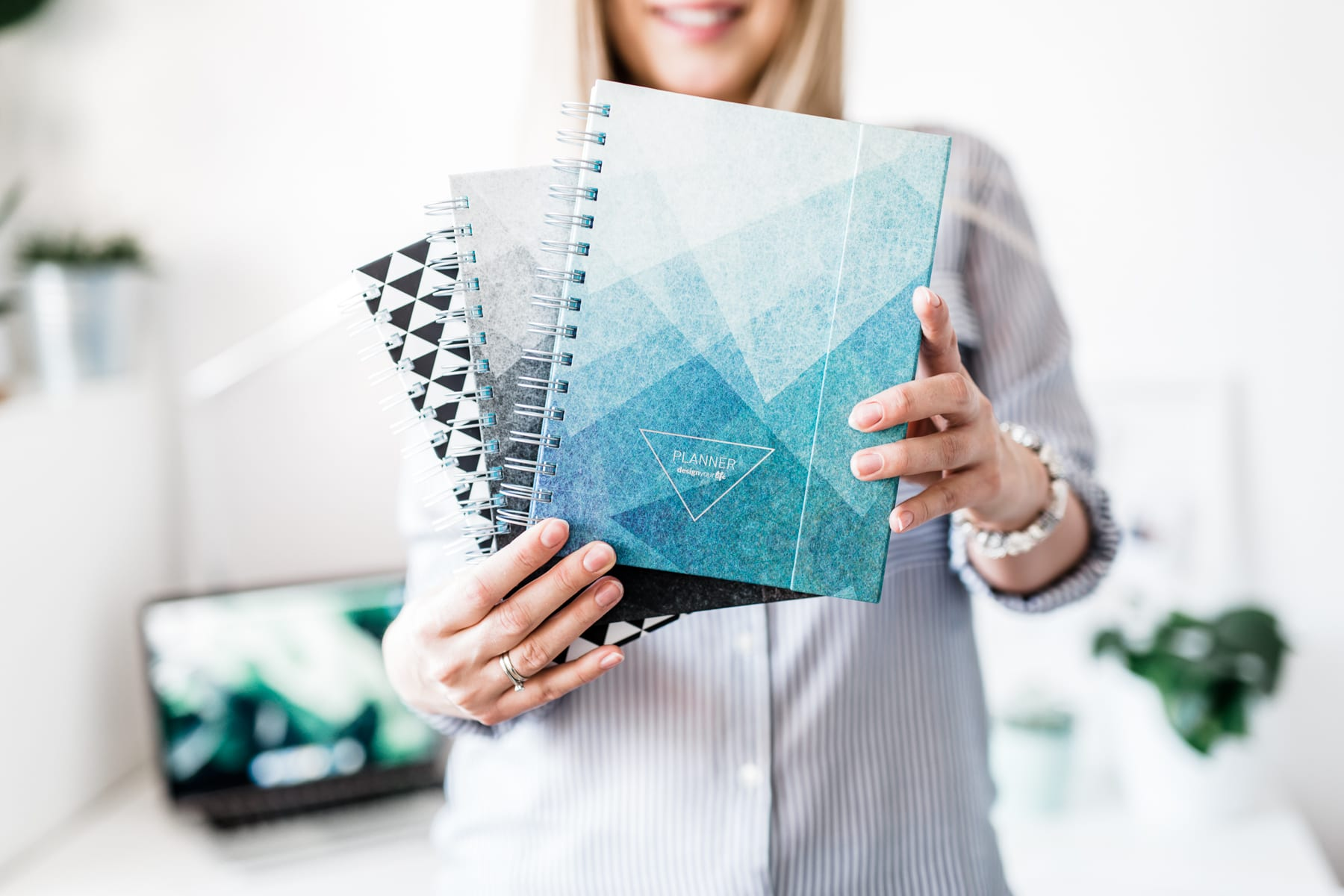 Design Your Life   kolekcja plannerów branding