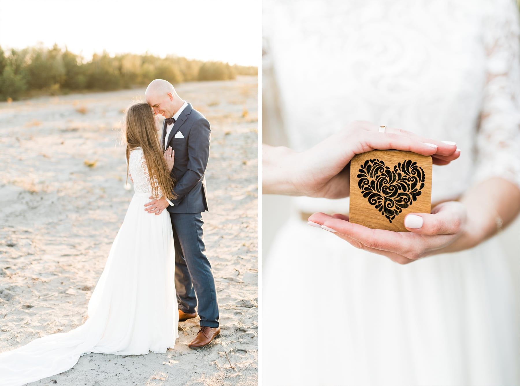 Sesja ślubna na Pustyni Błędowskiej śluby