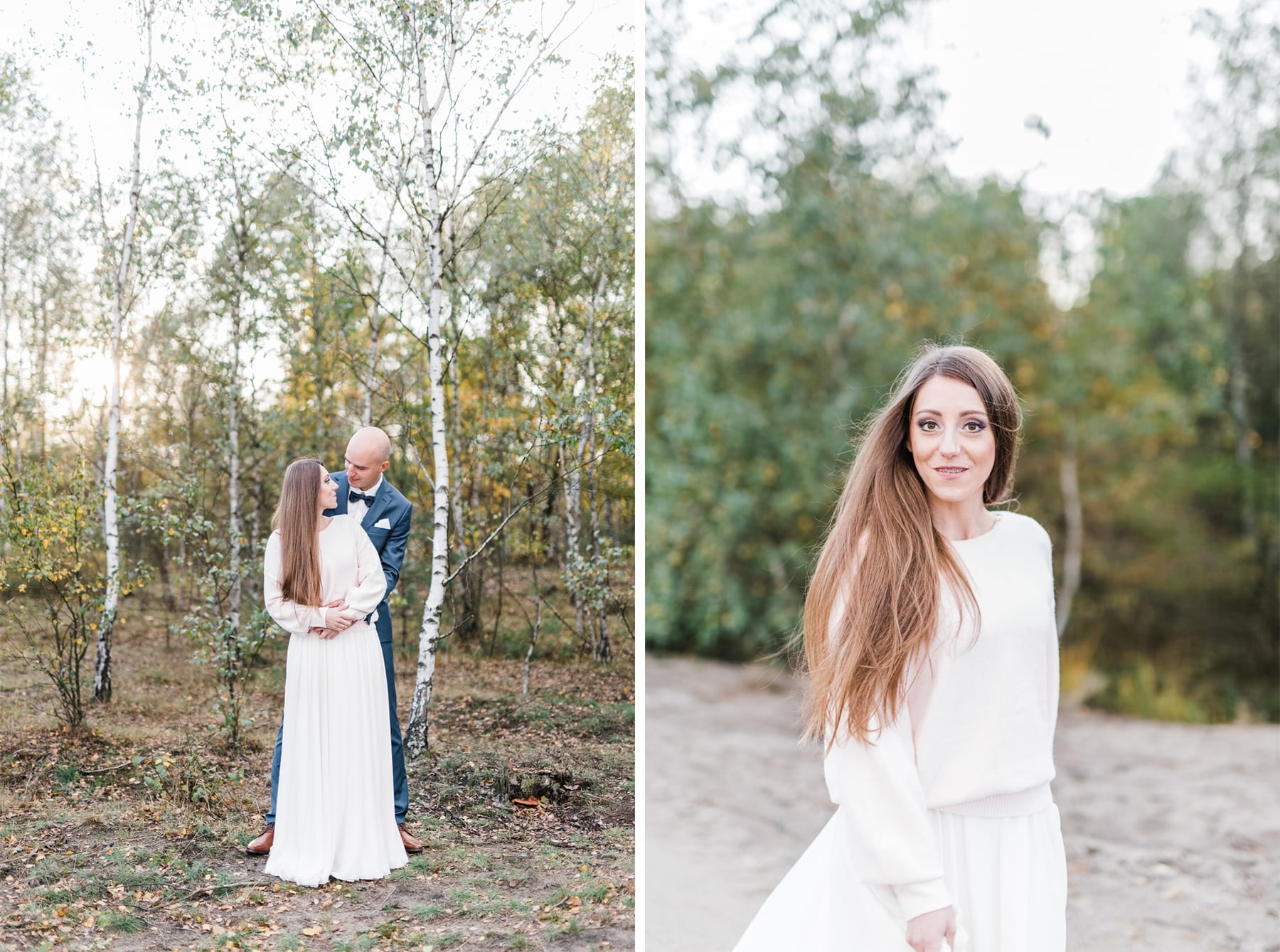 Pustynia Błędowska, sesja ślubna-6