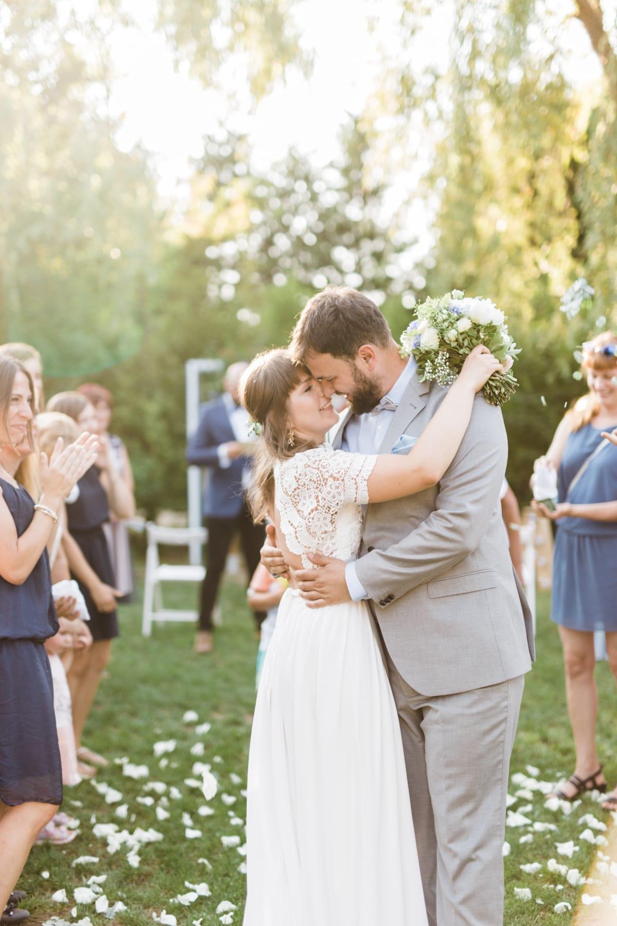 Plenerowy ślub Agnieszki i Filipa śluby
