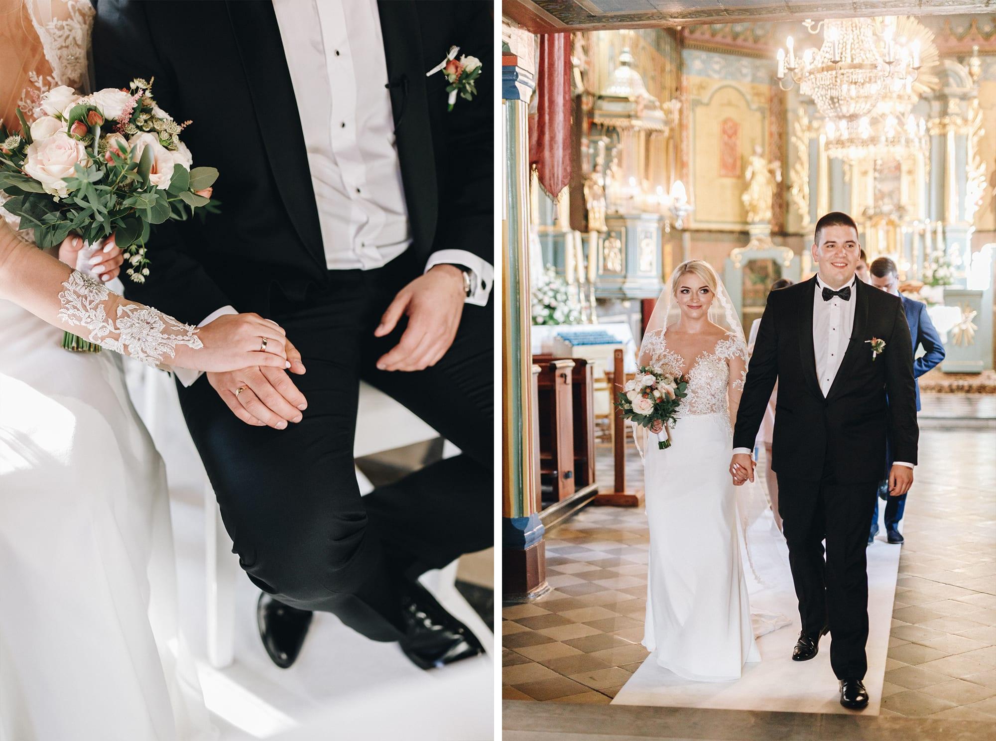Ślub w drewnianym kościele-59