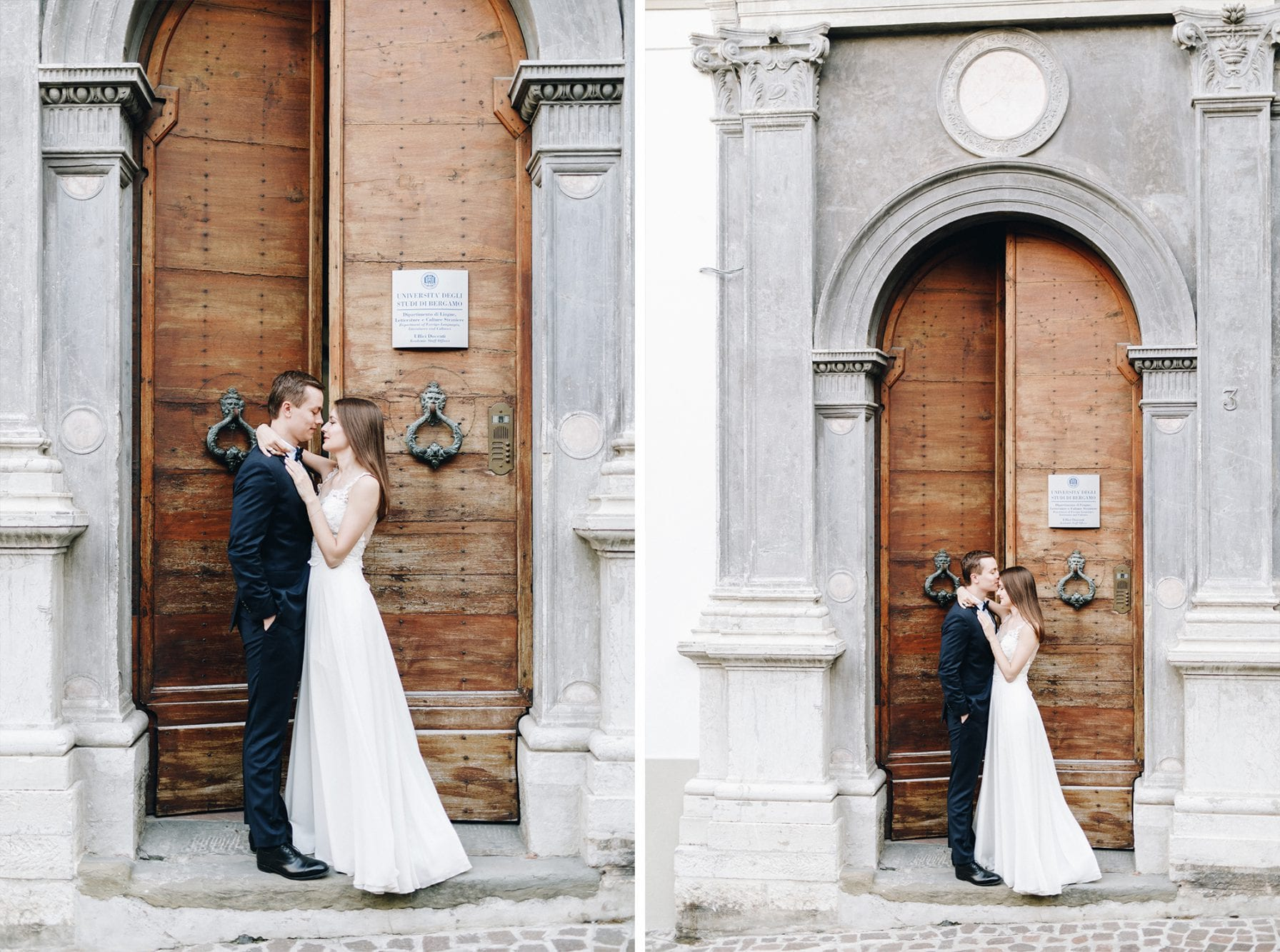 Sesja ślubna w słonecznym Bergamo śluby
